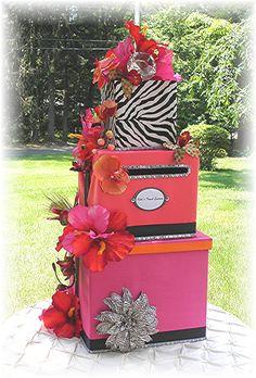The ISLAND Wedding Card Money Box Island by WeddingsofDesign