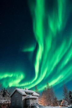 Encountered First Aurora Storm Photo by Yuichi Yokota — National Geographic Your Shot