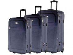 Conjunto de Malas para Viagem Travel Max - MB-LM305 com Cadeado 2 Peças