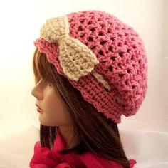 """Little Bo Pink Slouchy"" by CreativeHook."