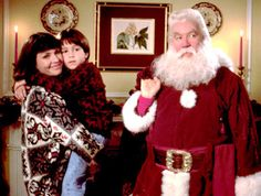 Santa Claus! Yes, my favorite movie.  I always wondered how he got in.  Now I know.
