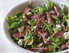 sirloin steak keto salad #ketogenicdiet #keto #lowcarbs #lchf