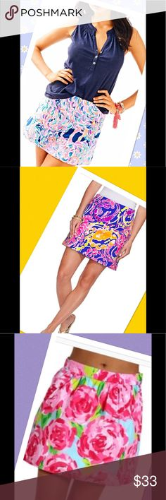"""🌹Chic Skirt lively colors perfect summer skirt🌹 It is full of lovely color for your work and dinner parties.  Like new.  Pair it with one of my tops and save.  Key West is the same quality as Lilly Pulitzer at lower price.  Waist to bottom 18"""" seam to seam 14"""".  Lined.  Wrinkle free.  Zipper in the back.  Model pic is to offer ideas.  ❣️I am open to all offers BUNDLE & send me your offer🌹 Key West Skirts"""