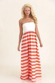 You Need Me Maxi Dress-Coral