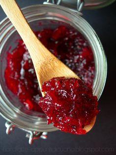 spicy redcurrant jam - marmellata di ribes speziata