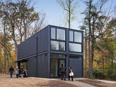 #container #house:  Bard Media Lab Architecture by MB Architecture