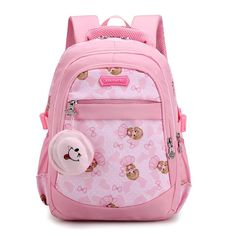 5c04b7048c18 RUIPAI Children Schoolbag Pupil Backpack Cute Girl s Double Shoulder Bag  High Quality Nylon Pack Comfortable Student s