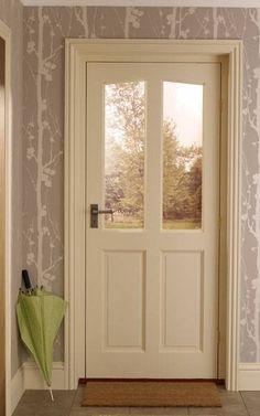 Richmond M - Hardwood Door & Richmond M\u0026T Pre-glazed Clear Hardwood External Door   Front door ...