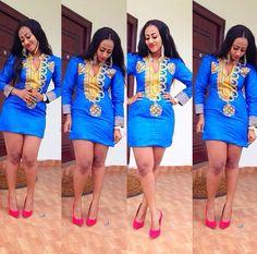 """Résultat de recherche d'images pour """"african short dress styles 2014"""""""