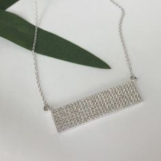 ‼️CLEARANCE‼️Crystal CZ Seven-Row Bar Simply chic. This necklace has refined style with a seven-row horizontal bar round brilliant-cut CZs. This jewelry is crafted of platinum over sterling silver in a polished finish•                                                                                                                                          •Excellent Quality  SOLID 925 STERLING SILVER. ❌NOT PLATED OR FILLED❌BRAND NEW WITH TAG•SAME DAY OR NEXT DAY SHIPPING•BUNDLE TO SAVE• NO…