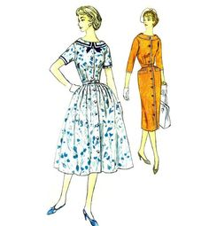 Simplicity 2423 Vintage Sewing Pattern by AdeleBeeAnnPatterns