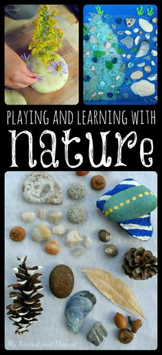 Playing and learning with nature