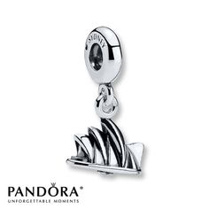 Pandora Dangle Charm Sydney Opera House Sterling Silver