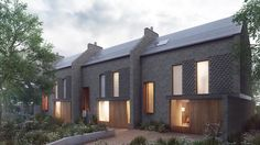 Enfiedl Infill Homes by PAD studio