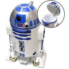 WE NEED THIS FOR THE NEW HOUSE!!!! ~Jillian ThinkGeek :: Star Wars R2-D2 Trashcan
