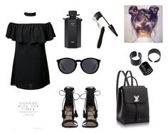 """""""cool girl"""" by leman-celilova ❤ liked on Polyvore featuring Zimmermann, Yves Saint Laurent, Lancôme and Gucci"""