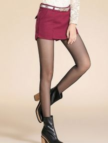 Dark Red Simple Ladies Bodycon Woolen Culotte