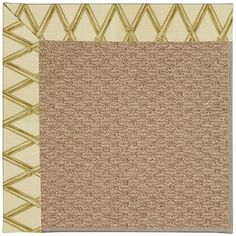Capel Zoe Machine Tufted Bamboo Rayon Area Rug Rug Size: 3' x 5'
