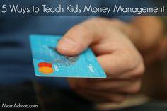 5 Ways to Teach Kids Money Management