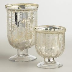 Just love the look of mercury glass