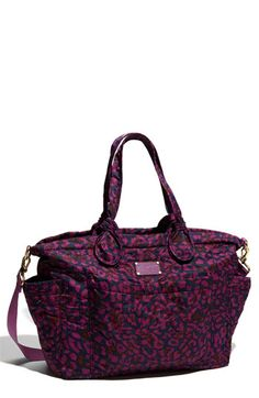 marc by marc jacobs diaper bag. it's soooo cute. if i were having a baby....
