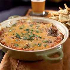 This easy appetizer mixes all of your favorite Mexican flavors for a dip that is sure to be a crowd-pleaser. Serve with pita chips or baked tortilla chips.