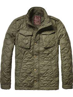Military inspired jacket | Jackets | Scotch & Soda Clothing Man