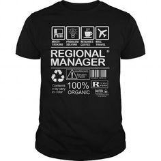 Regional Manager - MULTITASKING T-Shirts, Hoodies (23$ ==► Order Here!)