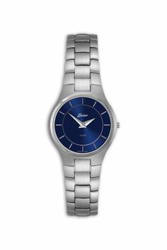 lds belair watch 3 atm stainless steel and ceramic case and lds stainless steel belair watch blue dial sapphire crystal and swiss movement