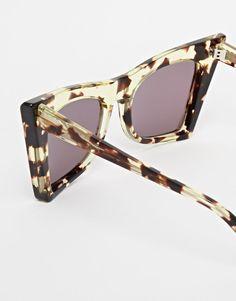 WILDFOX Montage Ivy Deluxe Retro Cat Eye Womens Sunglasses New w/o Case #Wildfox #CatEye
