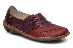 El Naturalista NE40 RESIN SUEDE TOAST / WARAJI Grigio - Chaussures Sandale Femme