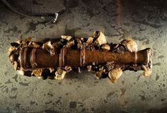 Blackbeard's Cannon, from the Queen Anne's Revenge--found off Beaufort, NC in 1995