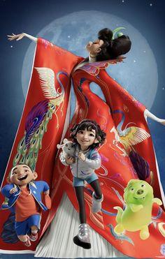 Cute Disney, Disney Art, Moon Party, Cartoon Girl Drawing, Moon Goddess, Over The Moon, Animation Film, Anime, Art Challenge