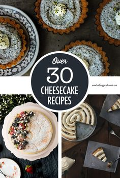 Our ultimate cheesecake recipe collection includes many unique takes on the popular New York cheesecake as well as Japanese and Israeli versions and if that's not enough there's also cheesecake squares, parfaits, mousses and ice creams too! Turtle Cheesecake Recipes, Strawberry Swirl Cheesecake, No Bake Blueberry Cheesecake, Cinnamon Roll Cheesecake, Cranberry Cheesecake, Cheesecake Toppings, Coconut Cheesecake, Chocolate Cheesecake Recipes, Cheesecake Squares