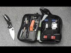 Maxpedition Fatty Organizer / Survival Kit - YouTube Maxpedition Fatty, Edc, Survival Backpack, Backpacking, Camping, Survival Prepping, Everyday Carry, Bushcraft, Organization