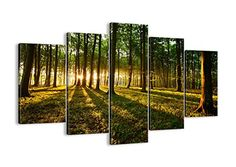 Canvas Print Picture  5 Piece  Total size Width 591150cm Height 394100cm Completely framed  Wall Art  Ready to Hang  multi panel  five 5 Part Panels  photo no 2510  EA150x1002510 *** Learn more by visiting the image link. (This is an affiliate link)