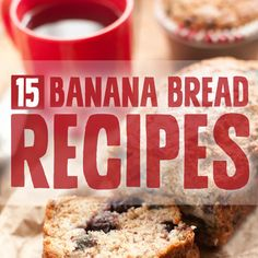 15 Paleo Banana Bread Recipes- grain-free & gluten-free.