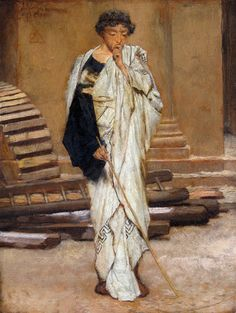 13 - Lawrence Alma-Tadema - The Roman Architect