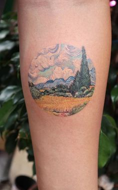 27 Tattoos Inspired By Classic Art To Wear Your Artistic Soul On Your Skin. Fro… 27 Tattoos Inspired By Classic Art To Wear Your Artistic Soul On Your Skin. From Klimt to Da Vinci and Van Gogh, here's 27 tattoos for true art lovers! Tattoo Life, Tattoo Motive, Get A Tattoo, Forearm Tattoos, Body Art Tattoos, Small Tattoos, Sleeve Tattoos, Cloud Tattoo Sleeve, Movie Tattoos
