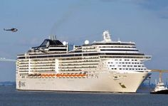Europe's largest cruise ship makes first voyage