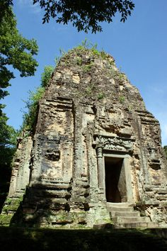Sambor Prei Kuk (par Noppanan Arunvongse Na Ayudhaya). En savoir plus: http://voyager-au-cambodge.com/sites-a-visiter/kompong-thom