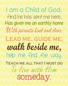A Pocket full of LDS prints: Free LDS Primary  Youth Printables  #lds #ldsprimarry