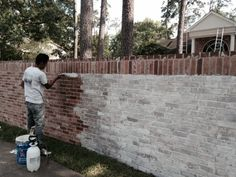 I have researched the web high and low to find the best solutions for altering my exterior brick. My husband for the last 28 years has loved the brick and finally is letting me change it. I debated between a slurried brick finish (mortar troweled or brushed a top of the brick), a painted brick …