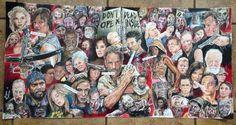 """This Insane Walking Dead Art:   27 Gifts Only True """"Walking Dead"""" Fans Will Appreciate"""