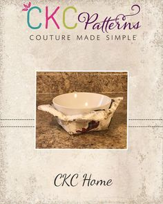 Create Kids Couture: 11th Day of Christmas: Soup Bowl Cozy
