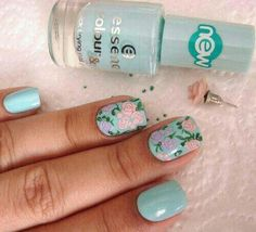 Love the light blue by itself, but with the flower blows it out of the water!