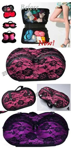 Protect one of the most delicate parts of your wardrobe while on the go- the Travel Bra Case for Women for only RM35!