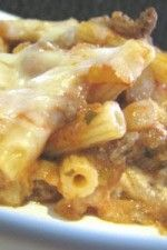 Cheesy Stuffed Baked Ziti