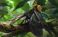 Warrior Fairy, Mike Azevedo on ArtStation at https://www.artstation.com/artwork/rRGeJ
