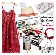 """""""go to Cuba 2"""" by paculi ❤ liked on Polyvore featuring Lonely Planet, My Bob and Packandgo"""